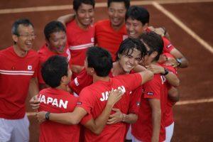 Archivo Foto: japon colombia daviscup Créditos: CopaDavis