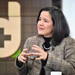 Sylvia Constaín, ministra de Tecnologías de la Información y las Comunicaciones (TIC), quien habló de las medidas que se han tomado desde el sector TIC para enfrentar crisis por el coronavirus.