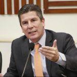 Ricardo Ferro, representante a la Cámara por el Centro Democrático Departamento del Tolima, quien habló de la situación en ese departamento en temas de orden público y la coseche cafetera.
